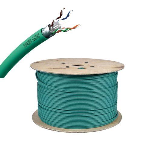 Cable U/FTP - CAT6A 1x4Paires - vert -500M - VDICD12X318 (prix au m)
